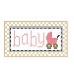 Canvas BABY GIRL  TL158