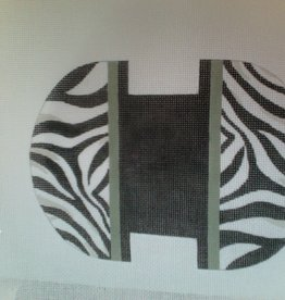 Canvas ZEBRA COIN POUCH DL977