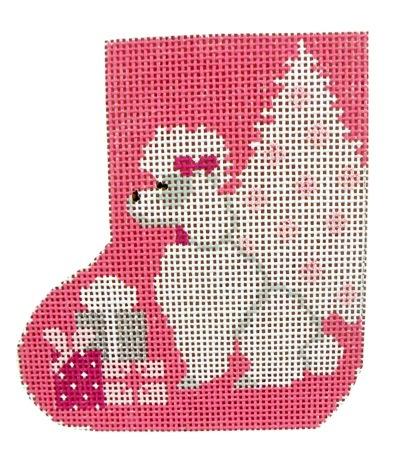 Canvas PINK POODLE MINI SKATE  SK96