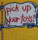 Canvas PICK UP YOUR TOYS  7353