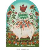 Canvas PANSY PIG  J211E