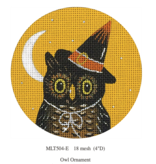 Canvas OWL ORNAMENT  MLT504E