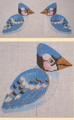 Canvas BLUE JAY CLIP-ON  LL 300B