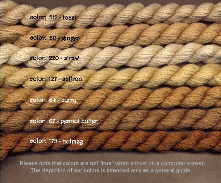 Fibers Silk and Ivory    NUTMEG