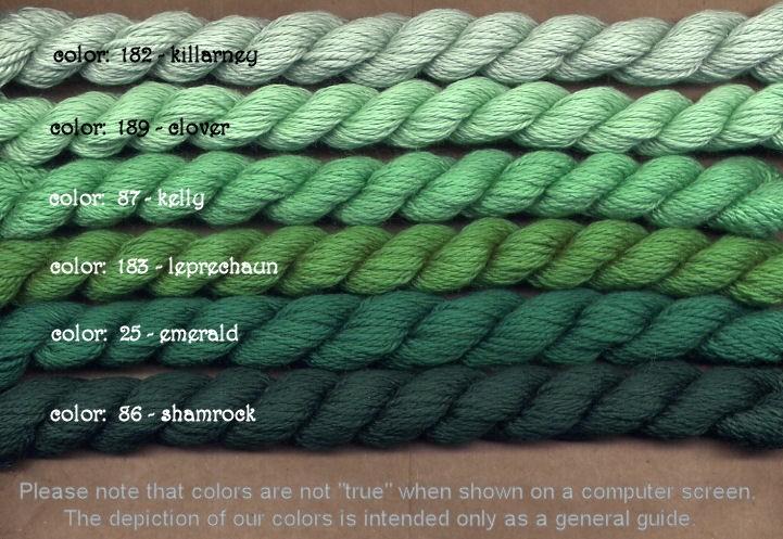 Fibers Silk and Ivory    LEPRECHAUN