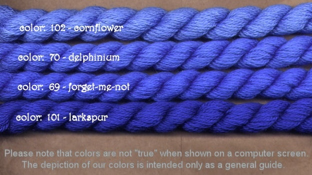 Fibers Silk and Ivory    DELPHINIUM