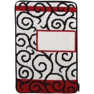 Canvas SCROLLS STITCH AND ZIP EBOOK COVER SZ813