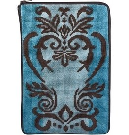 Canvas DAMASK STITCH AND ZIP EBOOK COVER SZ815