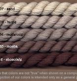Fibers Silk and Ivory    CHOCOLATE