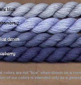 Fibers Silk and Ivory    SLATE BLUE