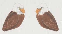 Canvas BALD EAGLE CLIP-ON BIRD  LL306E