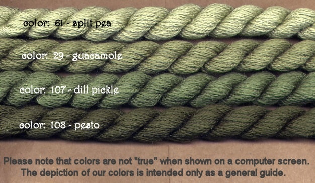 Fibers Silk and Ivory    PESTO