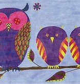 Canvas OWL FAMILY  ZE106