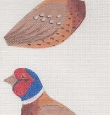 Canvas PHEASANT CLIP ON BIRD  306K