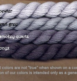 Fibers Silk and Ivory    SMOKEY QUARTZ
