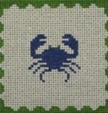 Canvas CRAB PILLOW  PIL302