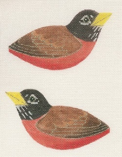 Canvas SPRING ROBIN  CLIP ON BIRD LL300P