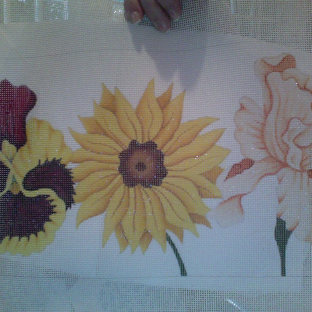 Canvas HAPPY FLOWERS AND SUNFLOWER V058
