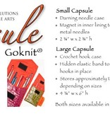 Accessories SALE - GOKNIT CAPSULE - LARGE<br /> REG $18.25