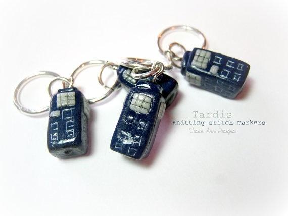 Accessories TARDIS STITCH MARKER