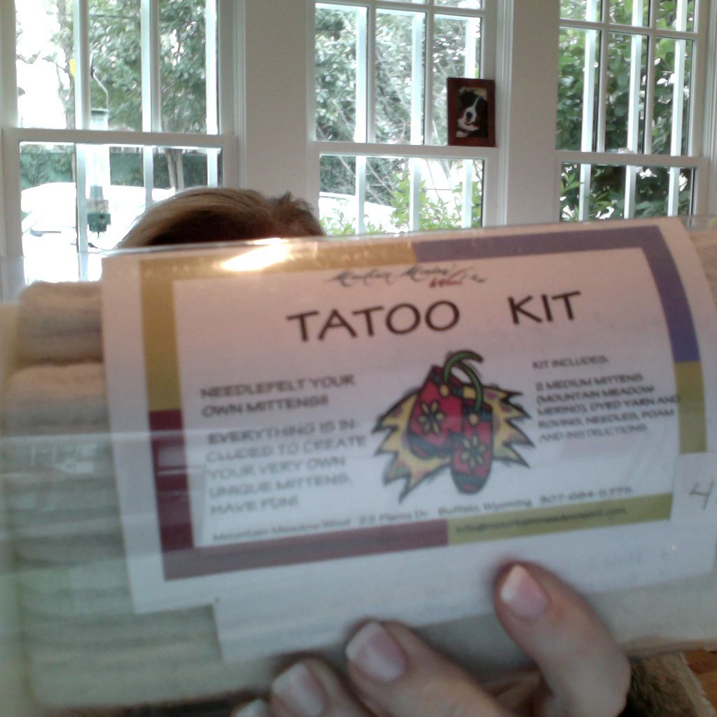 Yarn TATOO KIT - SALE<br />