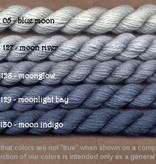 Fibers Silk and Ivory    BLUE MOON