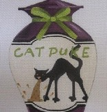 Canvas CAT PUKE POISON BOTTLE  KH422