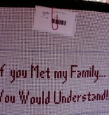 Canvas IF YOU MET MY FAMILY....  S354