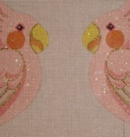Canvas PINK COCKATOO CLIP-ON  LL 300A