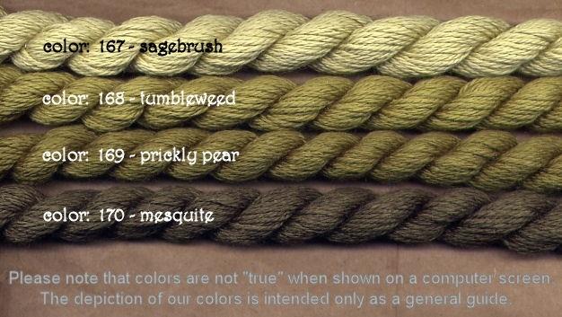 Fibers Silk and Ivory    MESQUITE