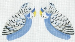 Canvas BLUE BUDGIE CLIP-ON  LL 300M