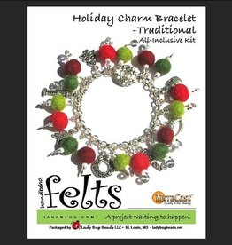 Yarn HOLIDAY CHARM BRACELET KIT