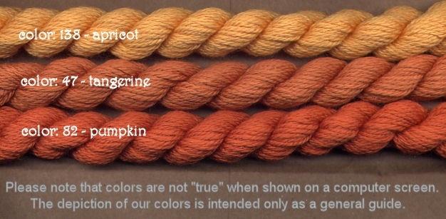 Fibers Silk and Ivory    PUMPKIN