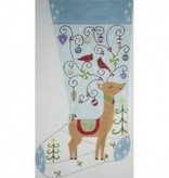 Canvas REINDEER STOCKING II  2441