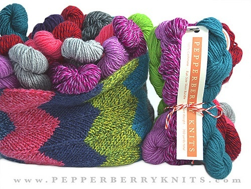 Yarn FUN BUNDLES OF PEPPERBERRY