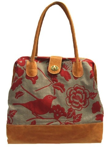 Accessories SAGE LUXURY MARCO BAG - CORAL CANARIES