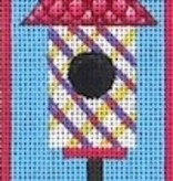 Canvas BIRDHOUSE BOOKMARK  ZE297