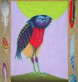 Canvas VESTED OWL  ZE318