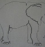 Canvas ELEPHANT PT687