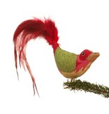 Canvas CHRISTMAS BIRD CLIP-ON BIRD LL300D