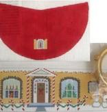 Canvas CHRISTMAS HOUSE  LB72