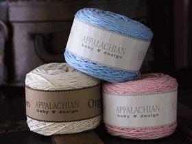 Yarn ORGANIC COTTON APPALACHIAN BABY  COLORS