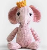 Yarn BLUE SKY ANIMAL KITS - EMILIE ELEPHANT