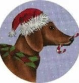 Canvas DACHSUND  MLT325D