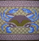 Canvas BLUE CRAB  P180