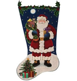 Canvas TRADITIONAL SANTA 343L