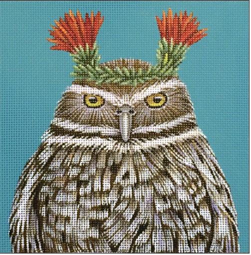 Canvas PACO - BURROWING OWL  VS157