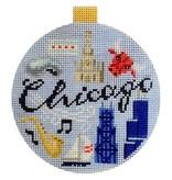 Canvas TRAVEL ROUND-  CHICAGO<br />  KB1262