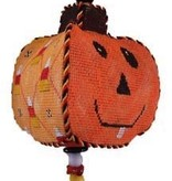 Canvas TWIRLING PUMPKIN 1  PU1