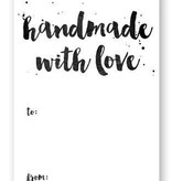 Accessories HANDMADE WITH LOVE  GIFT TAGS